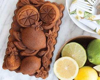 Nordic Ware® Citrus Blossom Bundt Cake Baking Pan