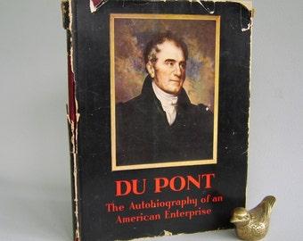 Vintage Du Pont American History Book Hardcover 50's