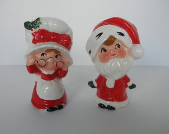 Mr and Mrs Santa Shakers