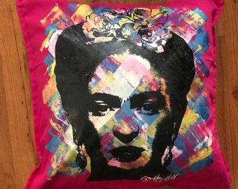 Frida Kahlo Pillow w/ Insert