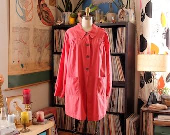 pink vintage hospital coat smock . White Swan Uniforms Ruggatex . Bryan Hospital Service League