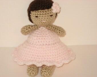 Sale - Amigurumi Crochet Little Girl Doll Pattern Digital Download