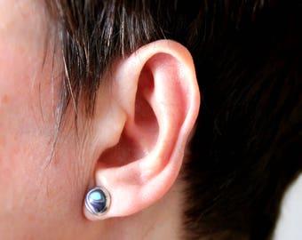Round post earrings QUEENIE
