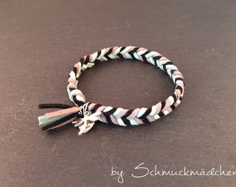 Bracelet gray turquoise
