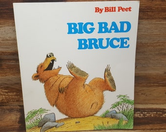 Big Bad Bruce, 1977, Bill Peet, vintage kids book
