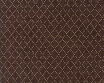 Moda COUNTRY ROAD Quilt Fabric 1/2 Yard By Holly Taylor - Earth 6666 21