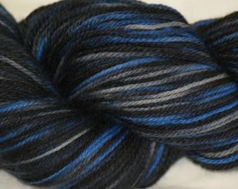"Wool/Nylon Sock Yarn Hand-painted ""Toby"""