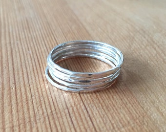 Sterling Silver Stacking Ring.