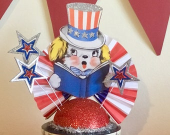 4th of July/Independence Day Decoration/Table Centerpiece