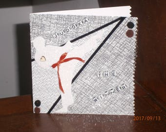 """Card for all occasions """"Judoka, the winner"""""""