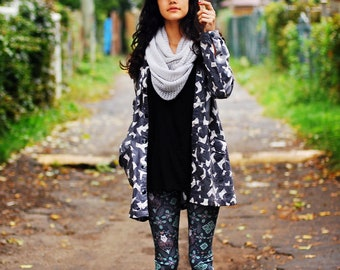 LOVE CATS womens leggings digitally printed Supayana Now in Poly Spandex
