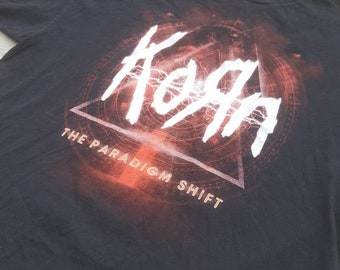 Korn The Paradigm Shift Tshirt Size XXL Men's Heavy Metal Concert Merch Album