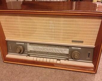 SABA Freudenstadt Stereo Vintage Tube Radio Germany