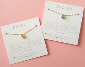 Friendship Ampersand (&) Necklace