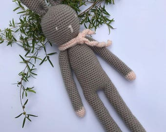 Amigurumi Bunny Rabbit, Handmade Crochet Bunny Rabbit, Baby Shower Gift