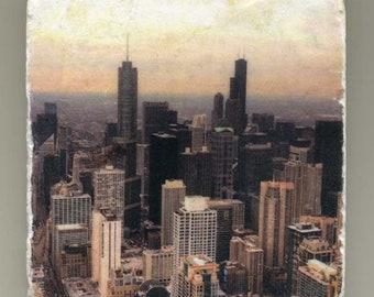 360 Chicago Skyline - Original Coaster