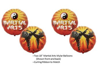 Martial Arts Balloons