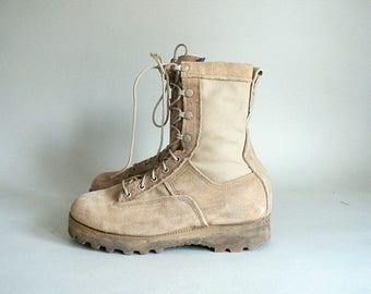Women 6 Combat Desert Boots