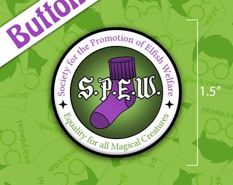 S.P.E.W. small Button / Badge