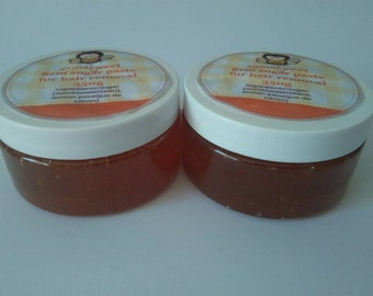 20% sale 2 jars of  firm Sugar paste ready to use no strips needed all natural handmade,christmas gift.