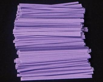 Free Ship!  Lavender Twist Ties - Assorted Quantities!  TP-6