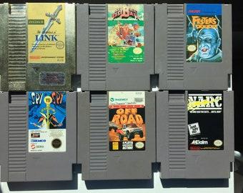 Original NES Games: Zelda II The Adventures of Link, Bad News Baseball, Fester's Quest, Spy Vs Spy, Super Off Road, Narc