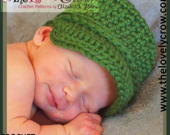 Baby Army Hat Crochet Pattern Little ComBrat Cap