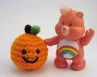 Nothing Rhymes With Orange - Plush Orange Keychain