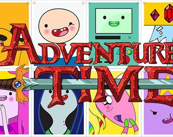 Adventure Time Party Banner