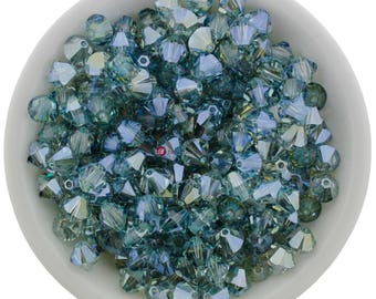 12pcs Mystique (6mm) Swarovski Crystal 5328 Xilion Bicones