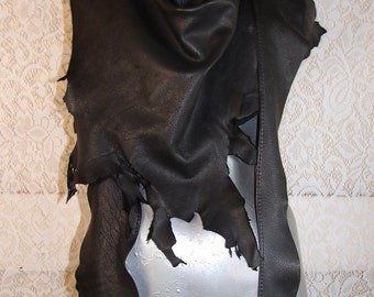 Deerskin Wrap Scarf COMICON Renaissance Sarong Gladiator Drape Primitive Skirt Pirate LARP Handmade by Debbie Leather