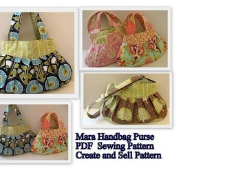 INSTANT DOWNLOAD PDF Sewing Pattern Mara Bag Create and Sell Product