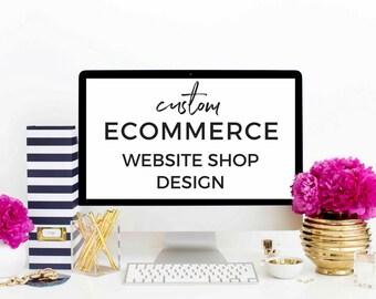 eCommerce Website Shop Design - Custom Store Built on WordPress WooCommerce Platform