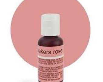 CHEFMASTER BAKERS ROSE Gel Paste
