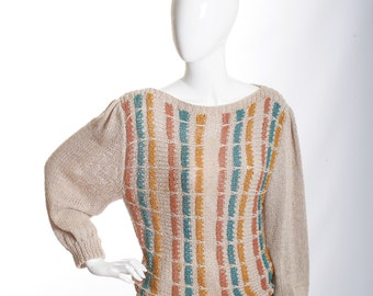 Closing Sale-Coupon Code Butterfly6  VIntage Sultry Honey Child Boho Chic Sweater