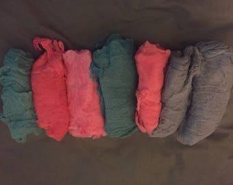 Swaddle Cloths - Cheese cloths for newborn photos