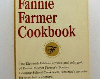 Fannie Farmer 1965 Boston Cooking School Cook Book
