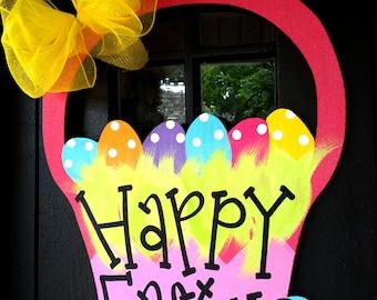 Easter Wreath   Easter Door Hanger   Easter Decorations   Spring Wreath