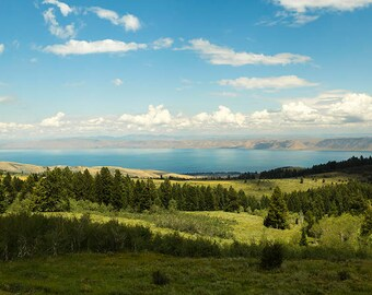 Bear Lake Summer View-  Landscape Utah Photography 10x20