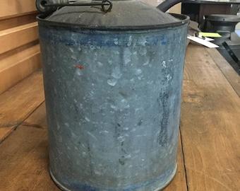 Galvanized Oil Jug
