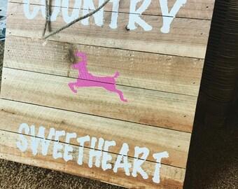 Little Girl Country Art