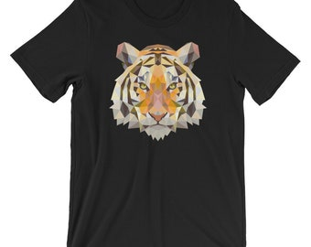 Tiger Face Cool T-shirt Animal Lover Tee