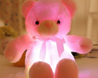 Teddy Bear - LED lights Glow