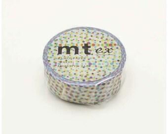 mt ex half tone - washi masking tape - 15mm x 10m x 1 roll