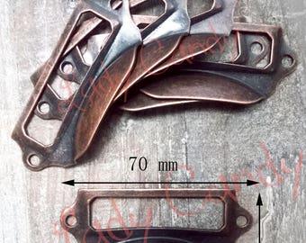 10 label shell iron Drawer Dresser sideboard #120086 furniture door handle