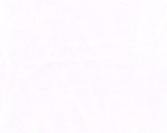 """60"""" White Minky Fabric-12 Yards By The Bolt (VF301)"""