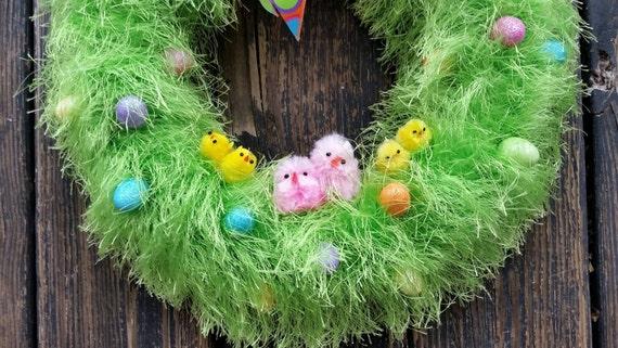Easter Wreath, Spring Wreath, Easter Egg Wreath