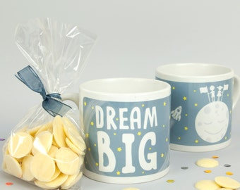 Dream Big Children's Mug // Children's Mug // Kids Mug // Mini Mug // Easter Gift // Christmas Gift // Gift for Kids // Christmas