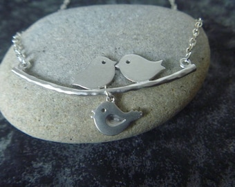 Bird and branch Necklace: spring is here!