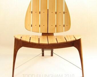 Mid Century Modern Deck Chair